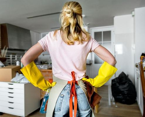 Huis schoonmaken stappenplan